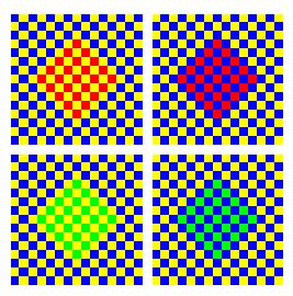 I media illusions d 39 optique chromatiques - Illusion optique dessin ...