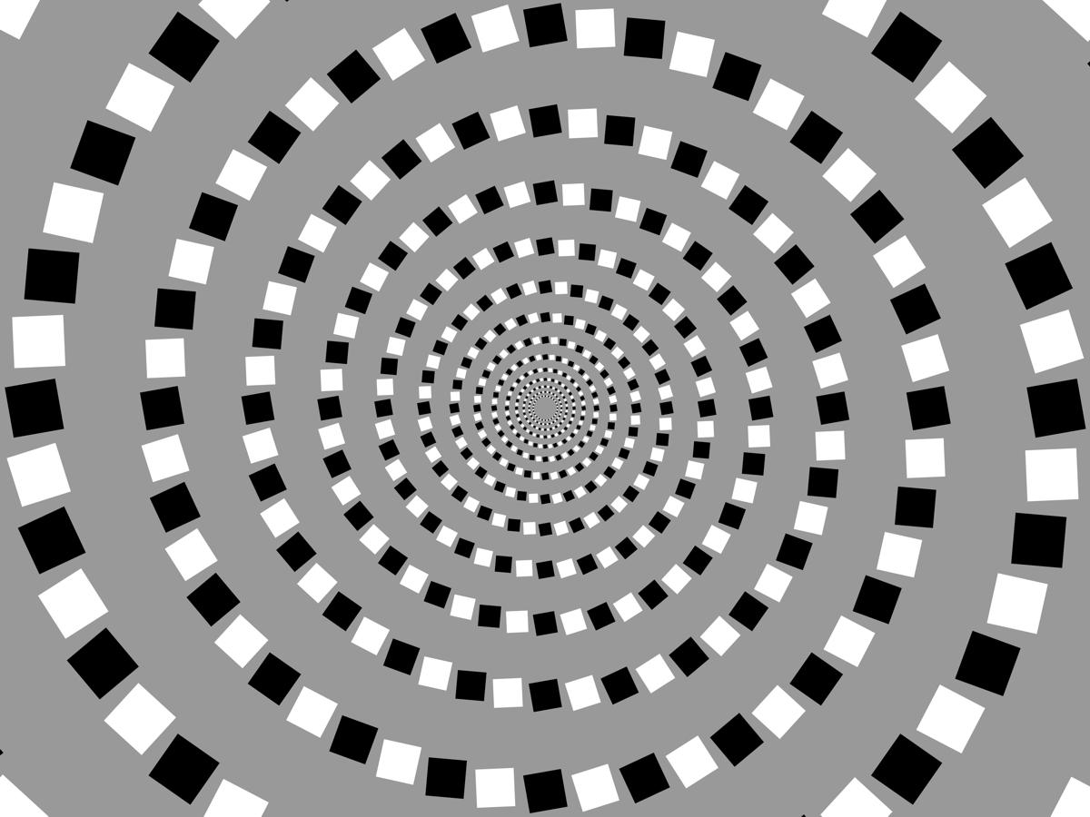 Spiral Illusion  Squarespirals