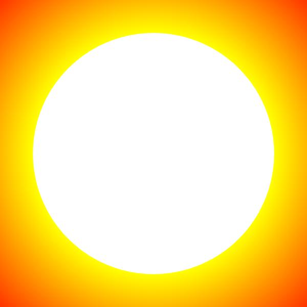 Glaring sun